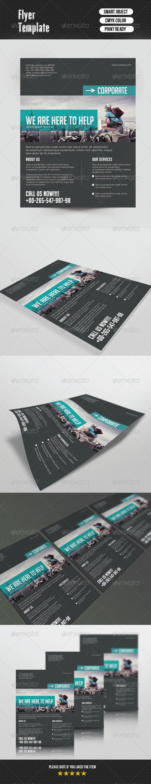 GraphicRiver Minimal Flyer Template 6766519