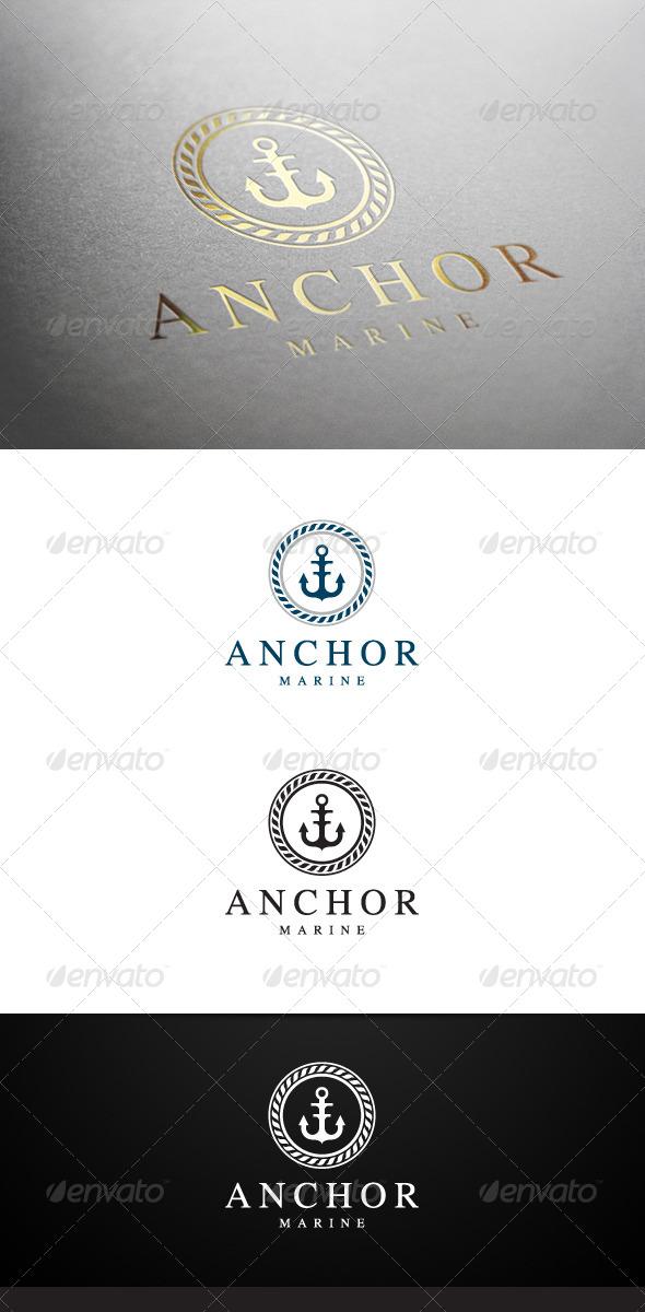 GraphicRiver Anchor Marine Logo 6766590