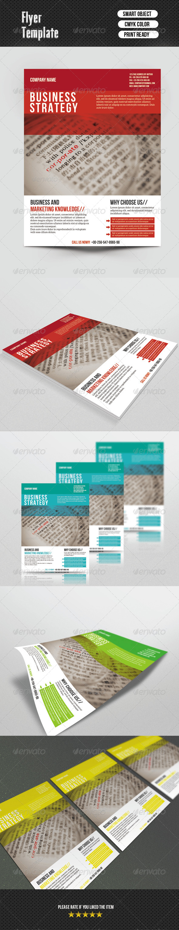 GraphicRiver Busines Flayer 6766595