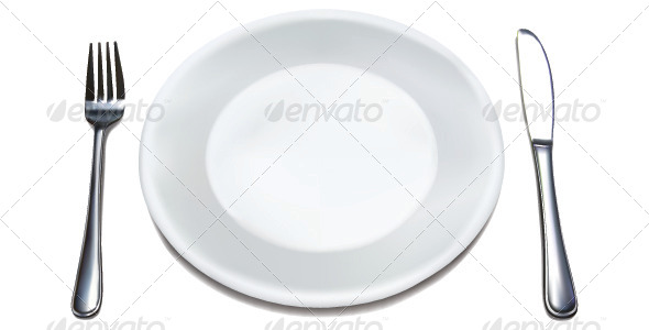 GraphicRiver Dinner Plate Set 6766780