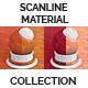 Scanline Procedural Tiles 1x2