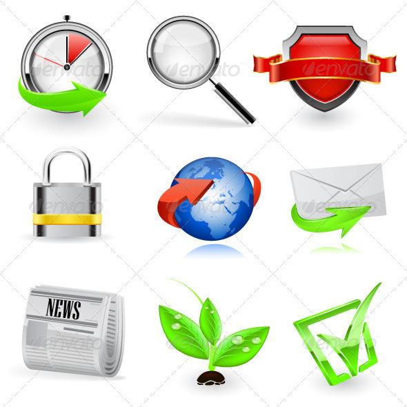 GraphicRiver Web Icon Set 6766889