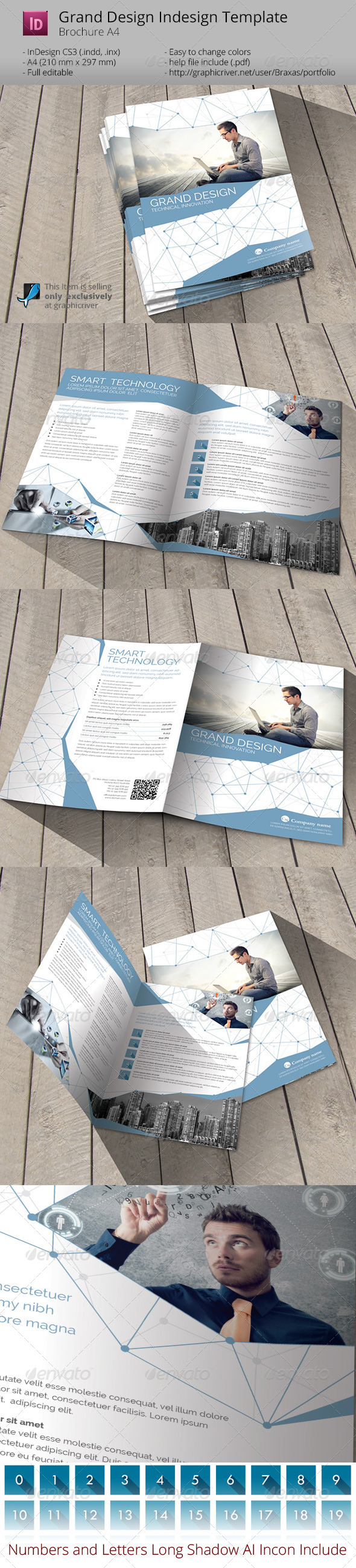 GraphicRiver Grand Design Smart Technology Indesign Template 6766990