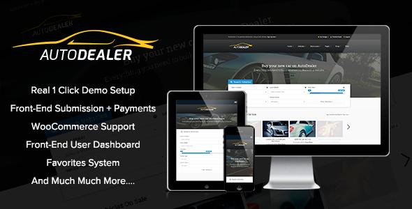AutoDealer – Car Dealer WordPress Theme