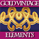 Gold Vintage Elements for Various Design.. - GraphicRiver Item for Sale