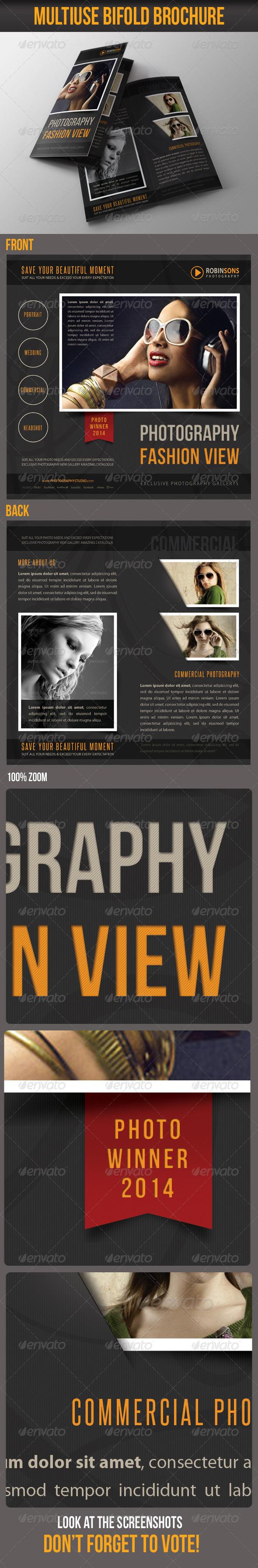 GraphicRiver Multiuse Bifold Brochure 44 6767115