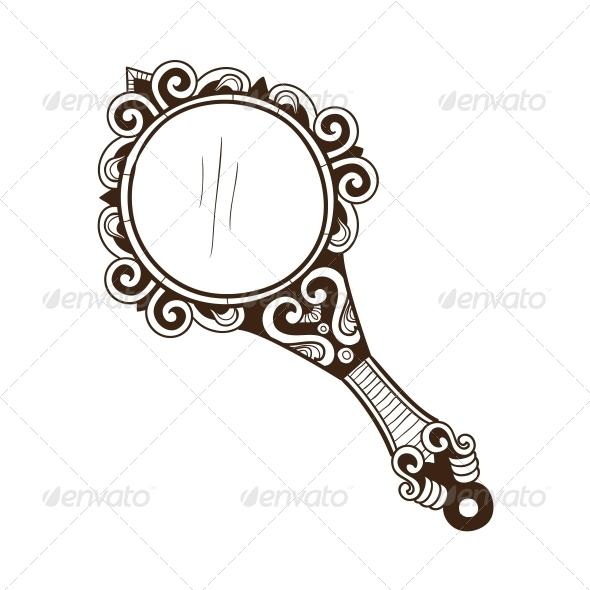 GraphicRiver Women s Pocket Mirror 6767232