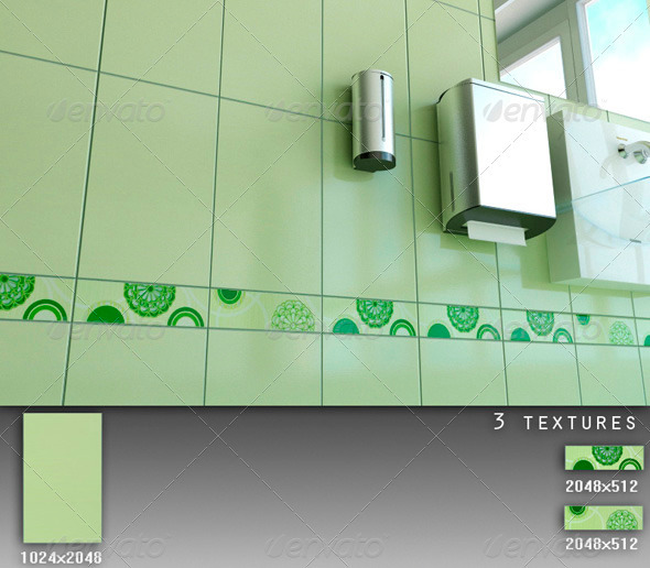 Professional Ceramic Tile Collection C069 - 3DOcean Item for Sale