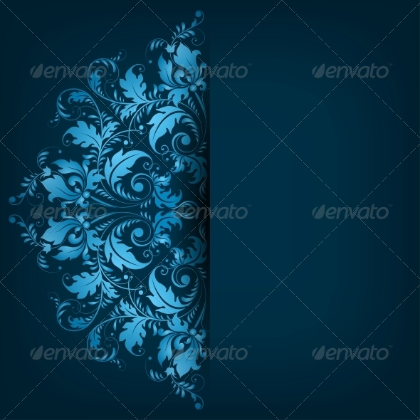 GraphicRiver Lace Ornament Background 6767413
