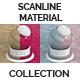 Scanline Procedural Tiles 1x3