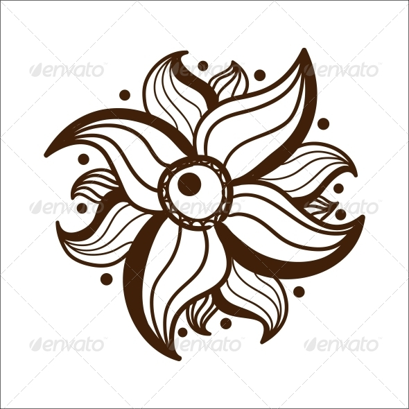 GraphicRiver Abstract Flower 6767437