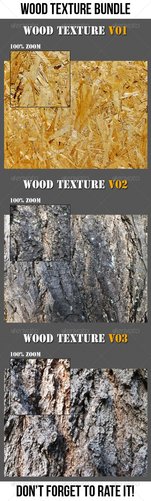GraphicRiver Wood Texture Bundle 6767547