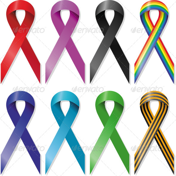 GraphicRiver Awareness Ribbons 6767697