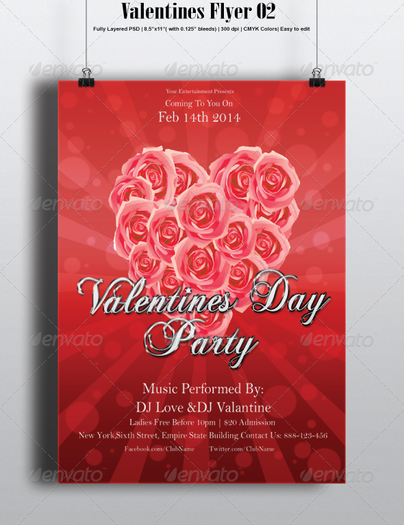 GraphicRiver Valentines Flyer 02 6761953