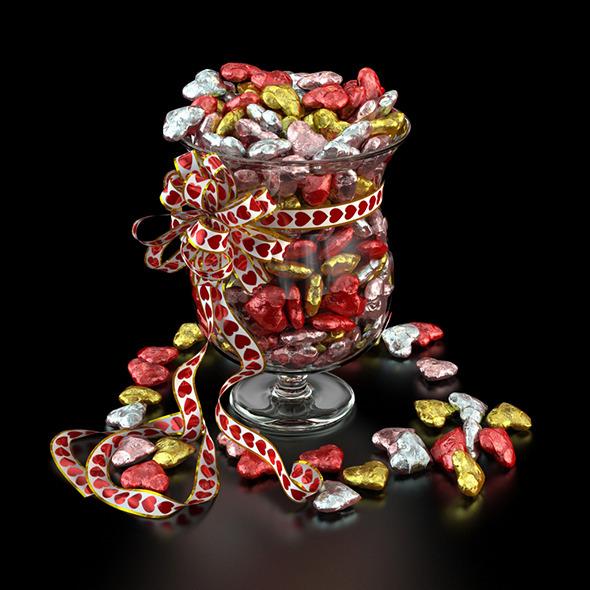 3DOcean Candy Vase 6767784