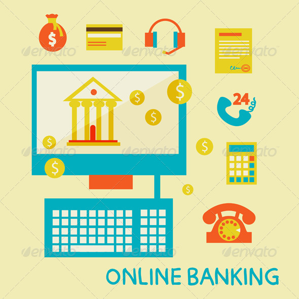 GraphicRiver Online Banking 6767786