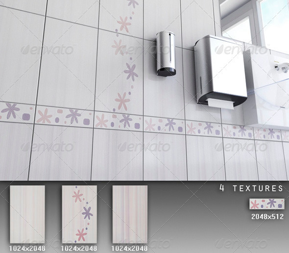 Professional Ceramic Tile Collection C070 - 3DOcean Item for Sale