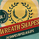 Wreath Shapes Vol.1 - GraphicRiver Item for Sale