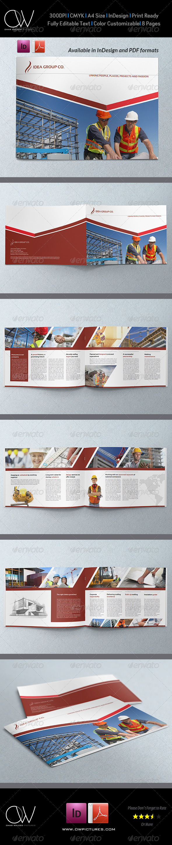 GraphicRiver Corporate Brochure Template Vol.24 8 Pages 6768024