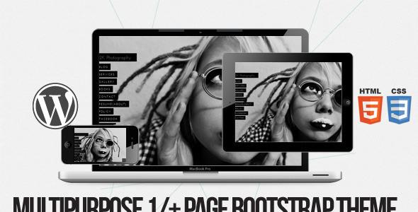 ThemeForest 2k Multi purpose 1 & page Bootstrap WPML Theme 6673295