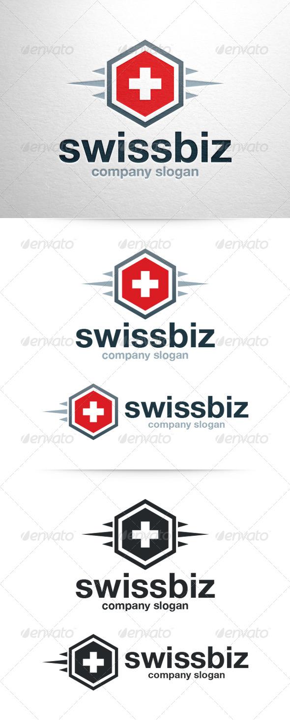 GraphicRiver Swiss Biz Logo Template 6768295