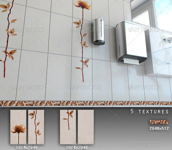3DOcean Professional Ceramic Tile Collection C072 708706