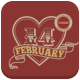 Valentine Flyer Retro - GraphicRiver Item for Sale