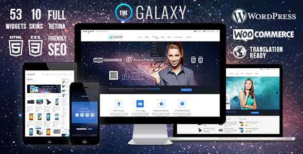 ThemeForest The Galaxy WP Responsive Multi-Purpose Theme 6680703