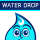 Water Droplet Mascot - GraphicRiver Item for Sale