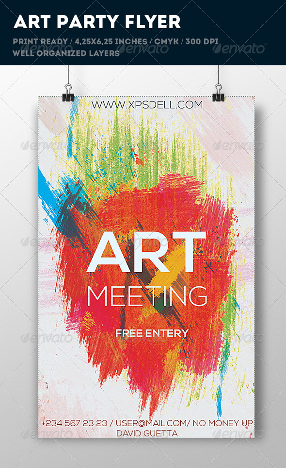 GraphicRiver Art Flyer 6769095