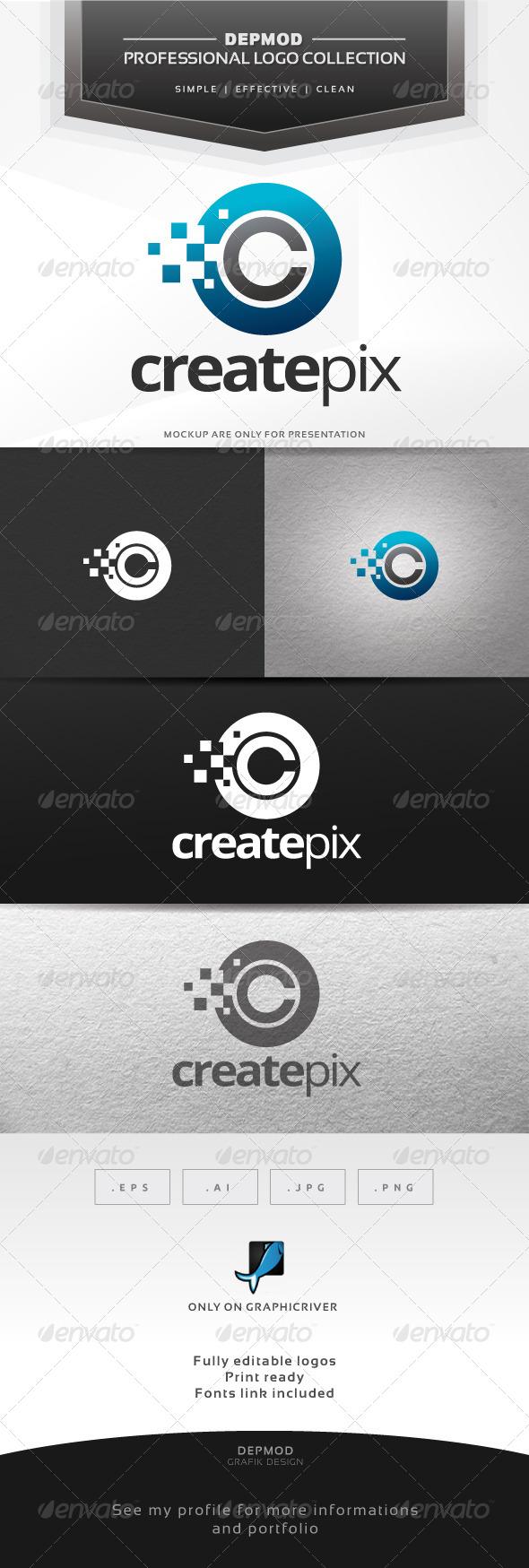 GraphicRiver Create Pix Logo 6769103