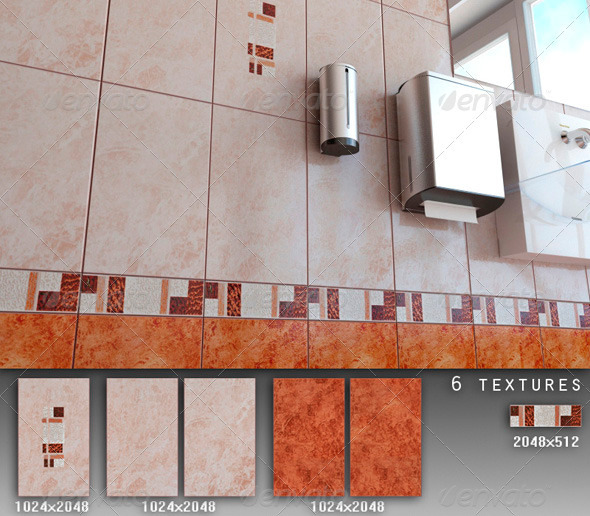 Professional Ceramic Tile Collection C073 - 3DOcean Item for Sale