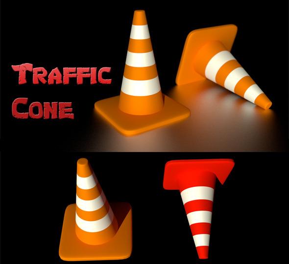 3DOcean Traffic Cone 6769120