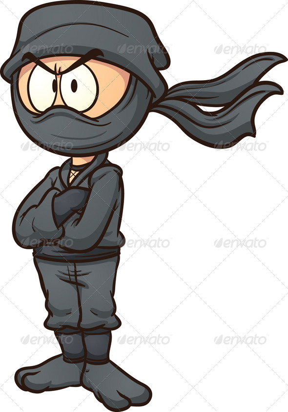 GraphicRiver Cartoon Ninja 6769349