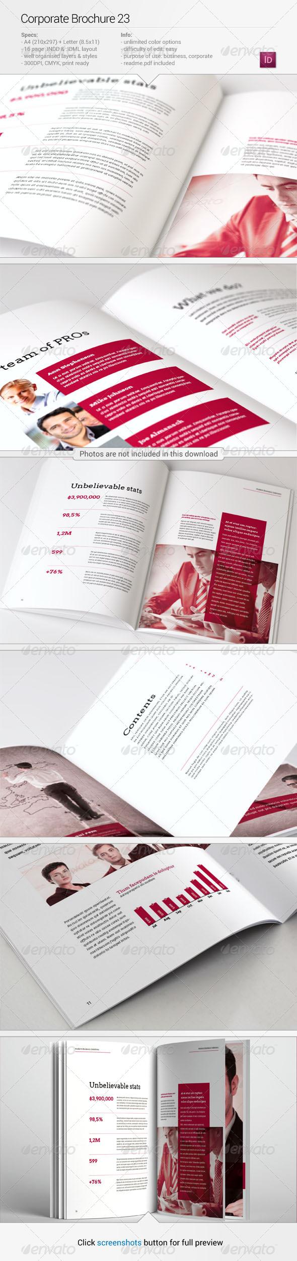 GraphicRiver Corporate Brochure 23 6769406