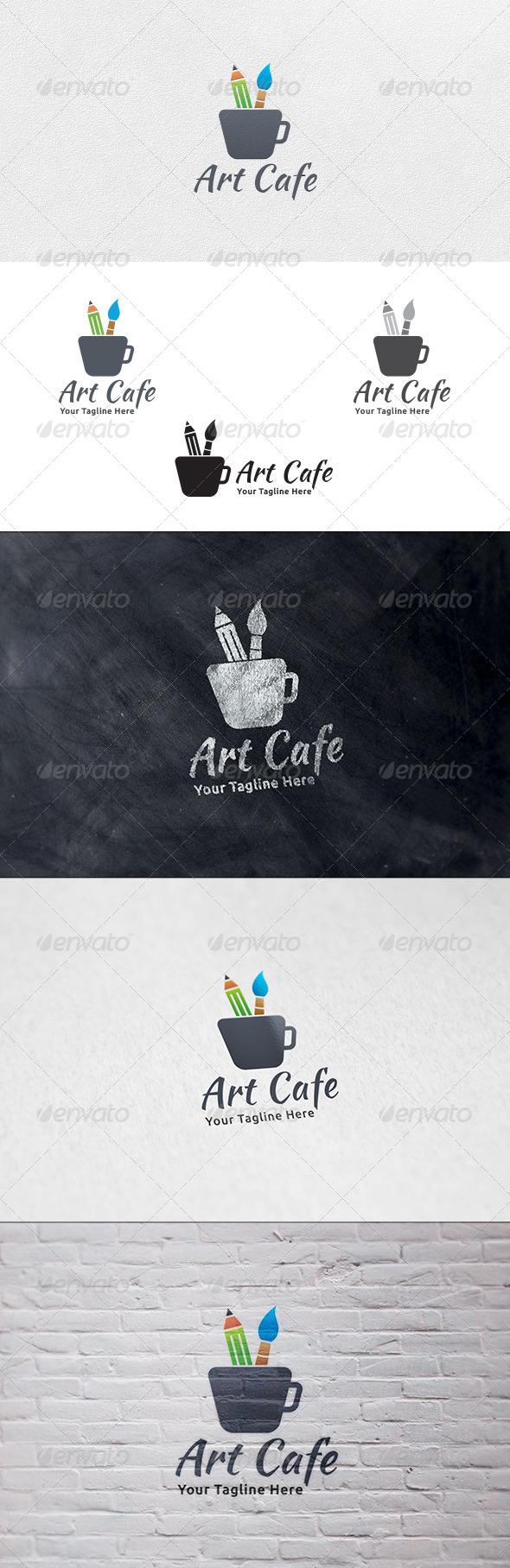 GraphicRiver Art Cafe Logo Template 6769650