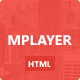 HTML5 Music Player Skin