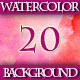 Set of 20 Abstract Watercolor Background - GraphicRiver Item for Sale