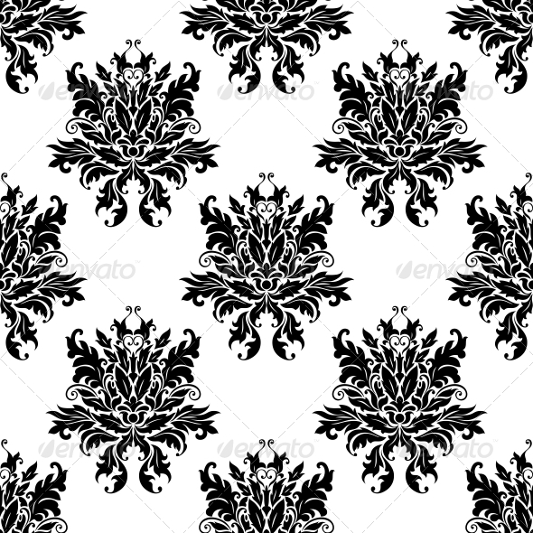GraphicRiver Floral Pattern 6770727