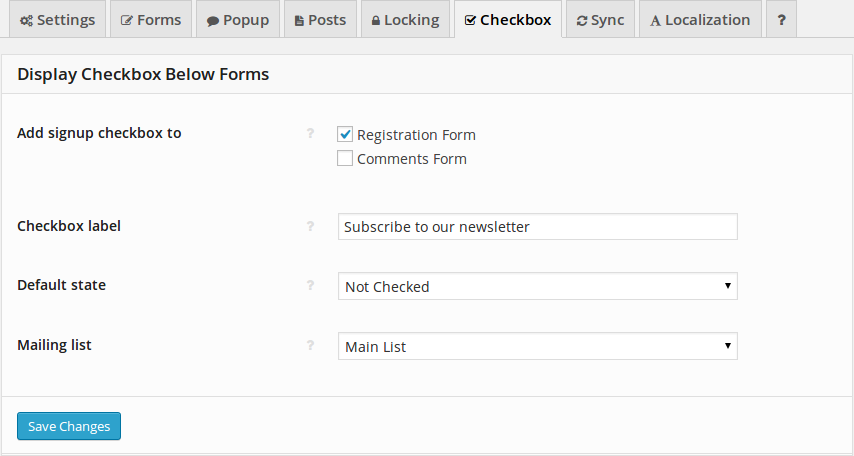 how to create an unsubscribe link in mailchimp