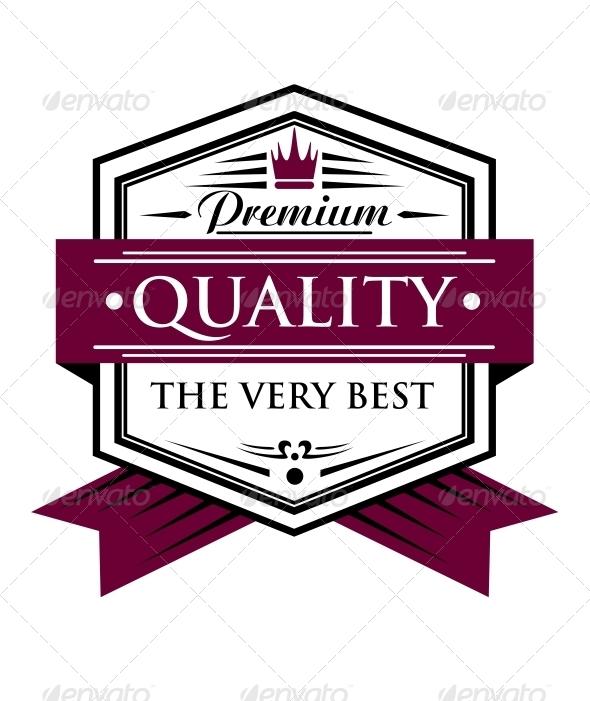 GraphicRiver Premium Quality Label 6771721