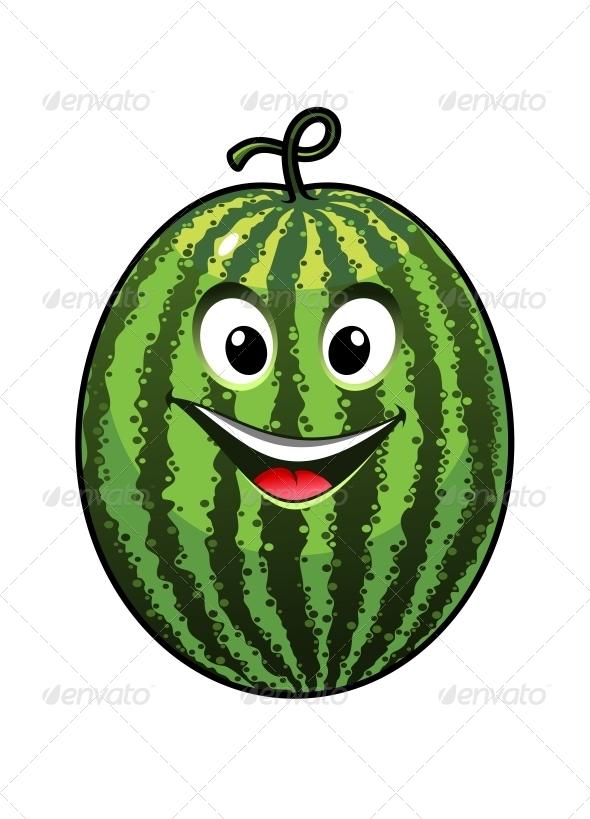 GraphicRiver Goofy Watermelon 6771866