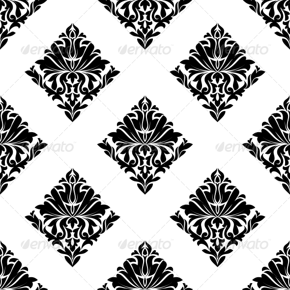 GraphicRiver Floral Seamless Pattern 6771907
