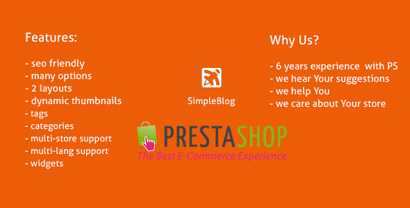CodeCanyon PrestaShop Simple Blog 6717465