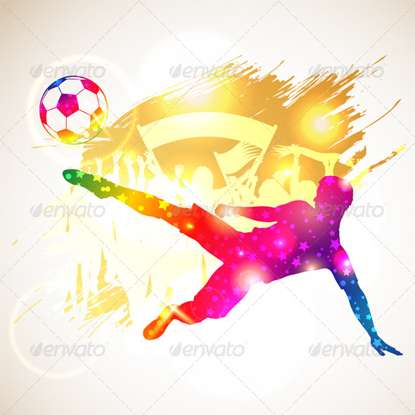 GraphicRiver Soccer Player 6774341