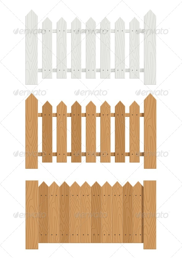 GraphicRiver Wooden Fence 6774342