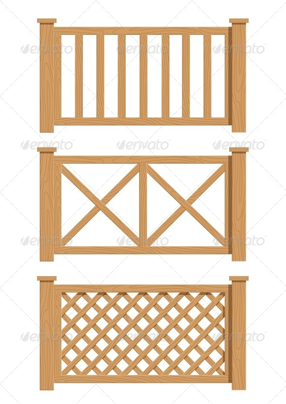 GraphicRiver Wooden Fence 6774386