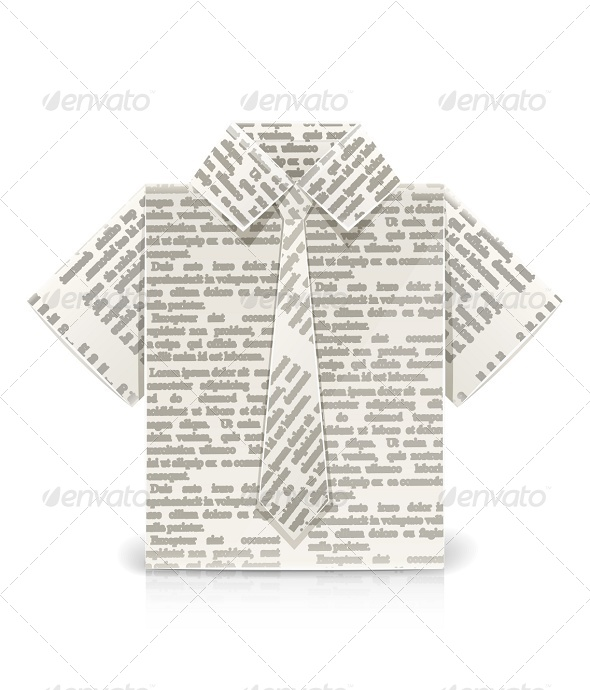 GraphicRiver Shirt Origami Toy 6774461