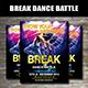 Break Dance Flyer - GraphicRiver Item for Sale