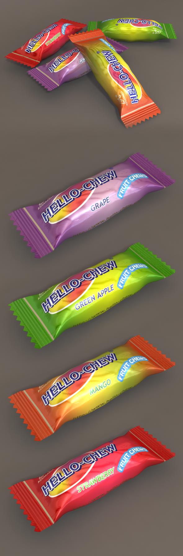 3DOcean 3D Candy Model 6775666